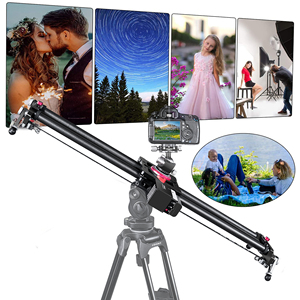 Image 5 - Bluetooth Carbon Camera Slider Motorized TimeLapse Electric Delay Slide Track Rail Stabilizer for Photography Canon DSLR Video