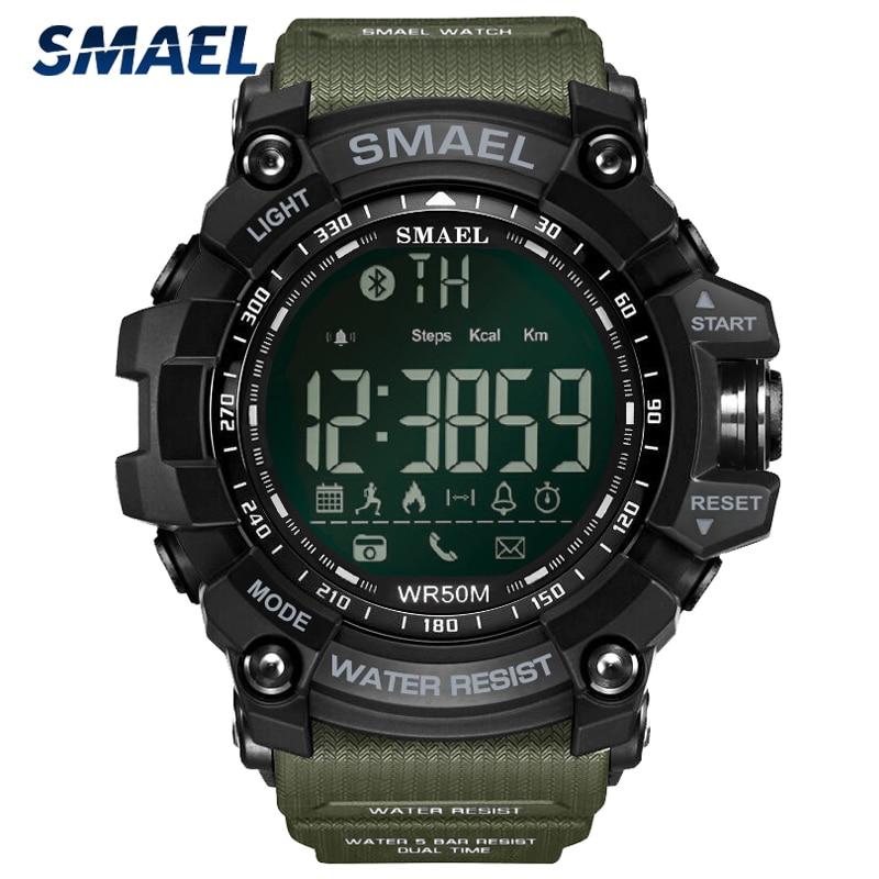 Купить smael спортивные часы для мужчин топ люксовый бренд военные