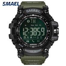 SMAEL – montre de Sport pour hommes, Top marque de luxe, militaire, étanche à 50M, numérique