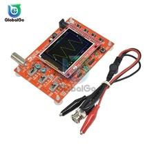 DSO138 2.4 Inches Digital Oscilloscope Board TFT 1Msps + Alligator Test Clip Probe for Arduino ARM Detection Development