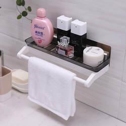 Shuangqing дыропробивная полка для ванной комнаты всасывающая полка для хранения на стене умывальник для туалетной комнаты крючки для стены