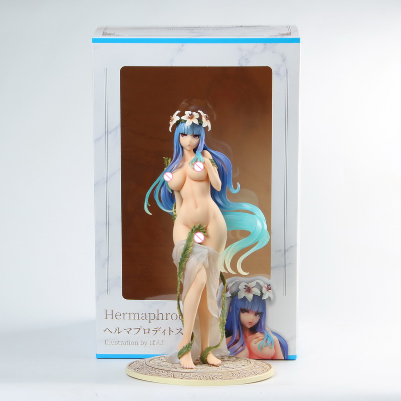 25cm Hermaphroditos SkyTube Soft Body Sexy Girls Action Figure Japanese Anime PVC Adult Action Figures Toys Anime Figures Toy