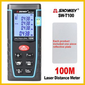 Image 5 - SNDWAY Rangefinder Laser Distance Meter Range Hand Tool Device Finder Electronic  SW T4S/T40/T60/T80/T100