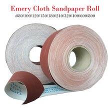 На рост от 80 до 800 Грит длина 1 метр руллон наждачной бумаги