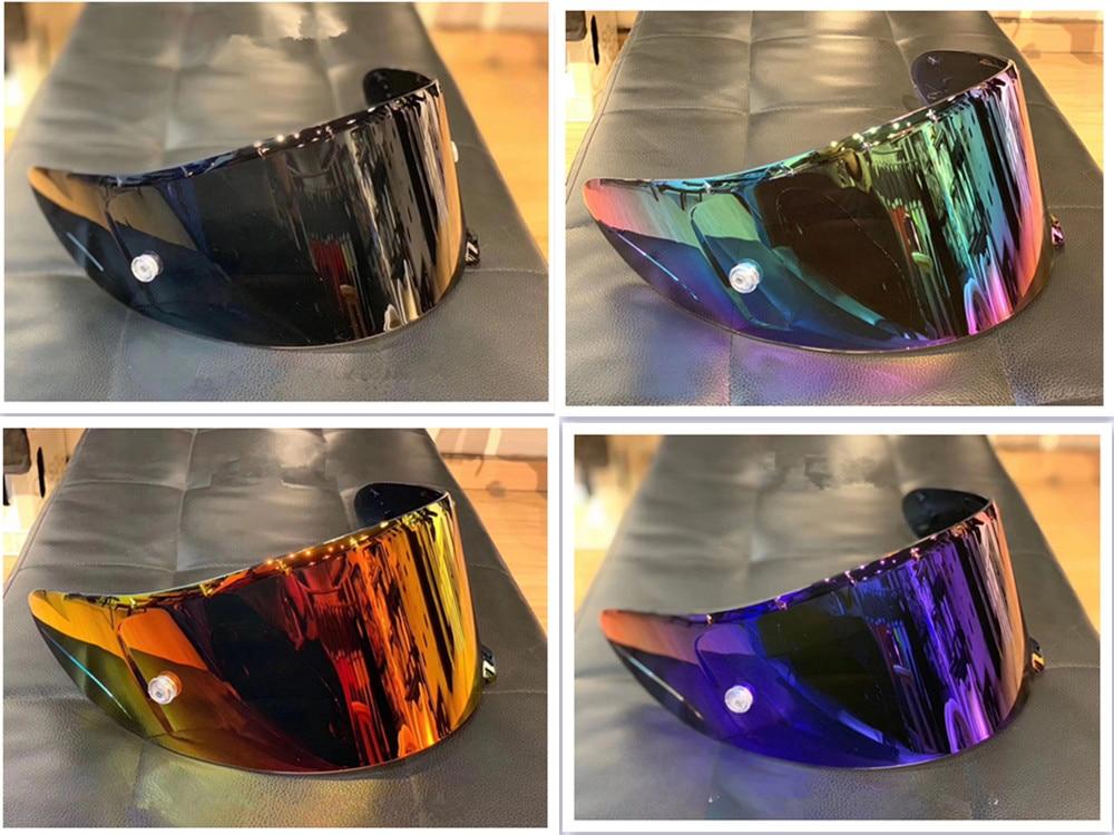 Motorcycle Helmet Visor Lens Full Face Shield Lens Case For SHOEI X14 Z7 Z-7 CWR-1 NXR RF-1200 X-Spirit 3 Visor Mask
