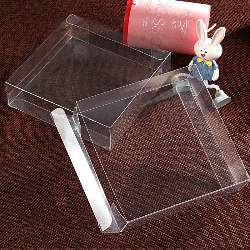 4xWx4 cm Transparent Waterproof Wedding Party Favors Boxes Clear PVC Candy Boxes Plastic PVC Cake Boxes Gift Packing (4)
