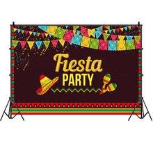 Мексиканский праздничный фон для фотосъемки фестиваль Красочный