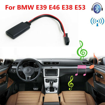 For BMW E39 E46 E38 E53 Navigation AUX-In Audio Bluetooth Module Wire Adapter image