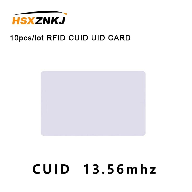 10pcs/lot RFID CUID UID CARD Modify UID Changeable NFC MF 1k S50 Card Block 0 13.56MHz