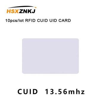 10pcs/lot RFID CUID UID CARD Modify Changeable NFC MF 1k s50 card Block 0 13.56MHz - discount item  20% OFF Access Control