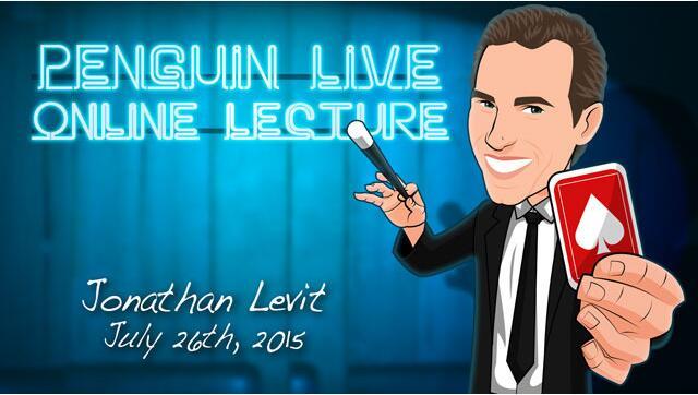 Jonathan Levit Penguin Live ACT MAGIC TRICKS