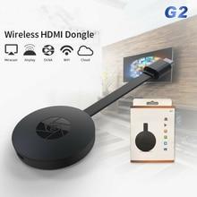 MiraScreen G2 ТВ-палка беспроводной HDMI донгл приемник 2,4G Wifi 1080P донгл с Miracast Airplay DLNA для Android IOS Mac