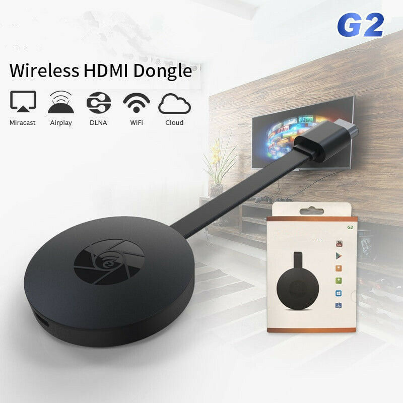 MiraScreen G2 TV Stick Wireless HDMI Dongle Receiver 2.4G Wifi 1080P Dongle With Miracast Airplay DLNA For Android IOS Mac