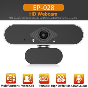 Image 3 - ALLOET Webcam Full HD 1080P, caméra Web avec Microphone intégré, rotatif, Autofocus, pour la diffusion en direct et le travail de vidéos