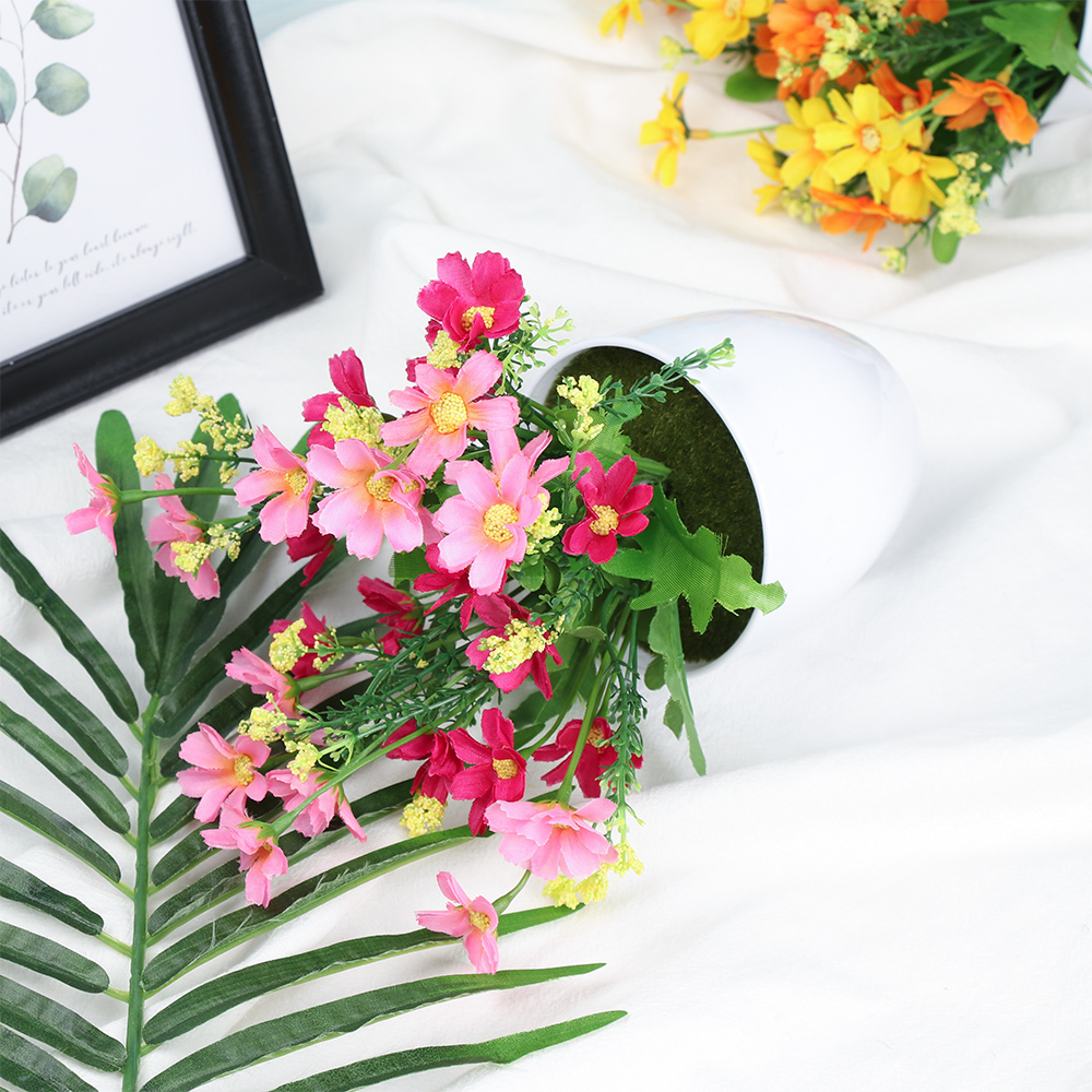 Craft Home Decoration Simulation Potted Artificial Bonsai Lifelike Plants