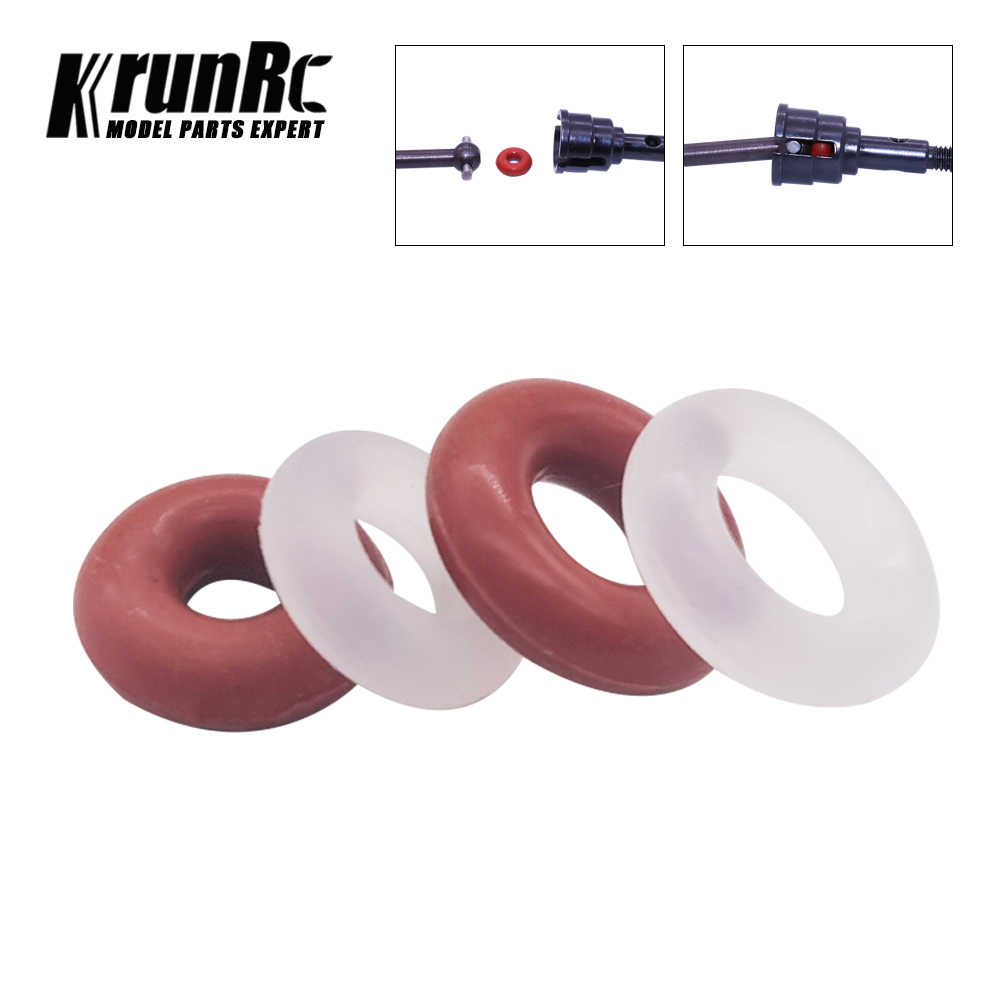 20 Pcs Wit Rood O-Ring Seal Rubber Pakkingen Ring Ring Voor Voorkomen Rc Auto Transmissie As Verliest wasmachine