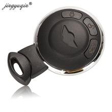 Jingyuqin 3 כפתור חכם מרחוק מפתח מקרה Fob פגז החלפת Keyless כניסה מרחוק מפתח כיסוי עבור BMW מיני קופר R56