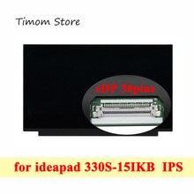 Laptop Lcd Lenovo 330S-15IKB Matrix Led-Screen Ideapad 30pin 1366--768 for 81f5/81jn/15.6