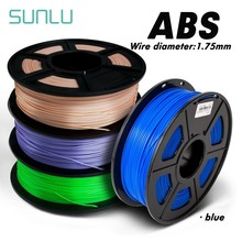 ABS Filament 1 75mm 1 kg 3D Printing Materials  1KG/2.2LBS 3D Plastic Printing Filament with Excellent impact strength
