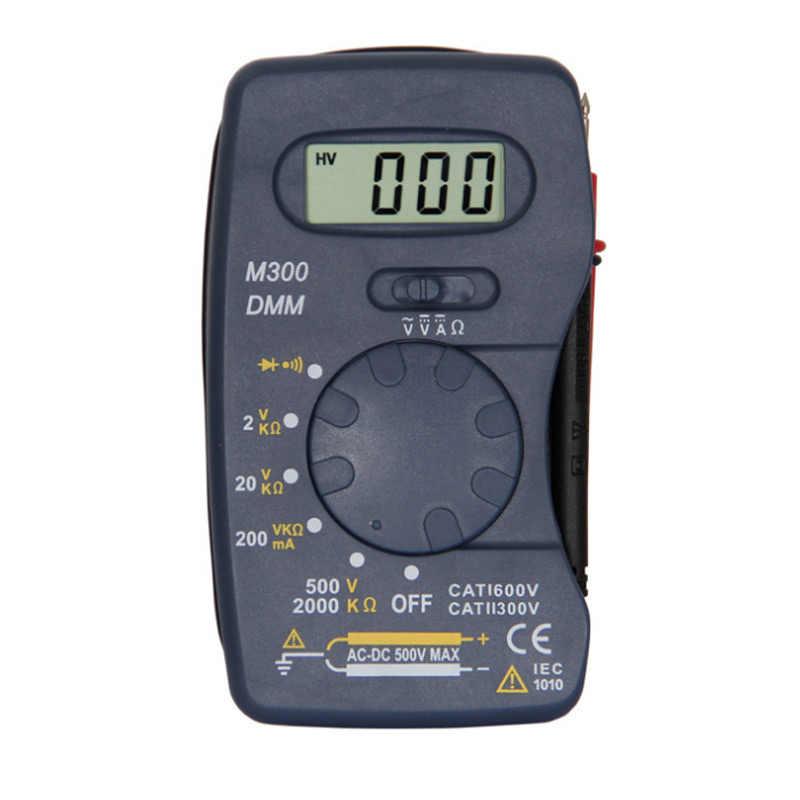 DT83B/M300 LCD multimètre numérique ca/cc testeur de tension de courant moderne ohmmètre pince mètres testeur