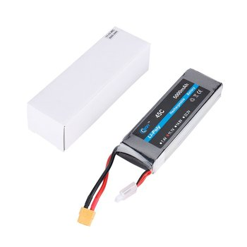 11.1V 5000mAh 45C XT60 Plug Connector Li-poly Rechargable Battery 8048145B for RC Helicopter Qudcopter Drone Truck Car Boat 1500mah 14 8v 4s 45c lithium li po battery xt60 plug 2pcs for rc helicopter qudcopter drone truck car boat bateria