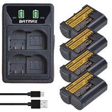 Batmax 2280Mah EN-EL15C EL15 Batterij + Nieuwe Led Usb Dual Charger Voor Nikon Z5, Z6, z6 Ii, Z7, Z7II D600 D610 D600E D800 D800E D810