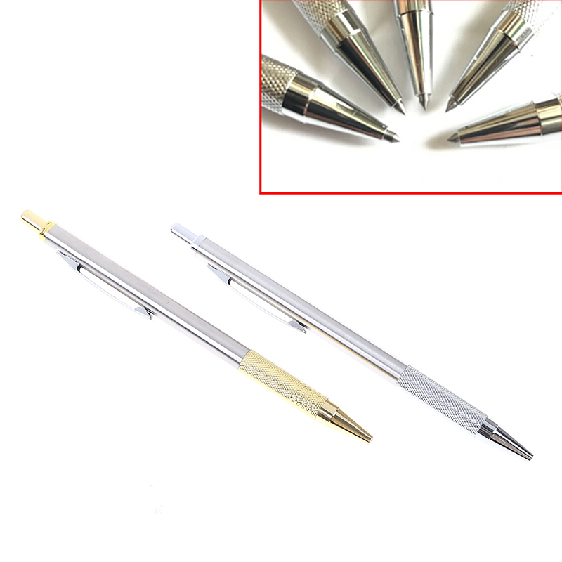 Pen Engraver Glass Knife Scriber Cutting Tool Diamond Glass Cutter Carbide Scriber Hard Metal Tile Cutting Machine Lettering