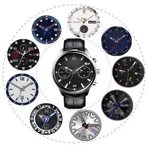 Image 5 - Lem5 pro smart sport watch men Finow X5 heart rate bluetooth WiFi GPS round screen waterproof smartwatch android 5.1 3G network