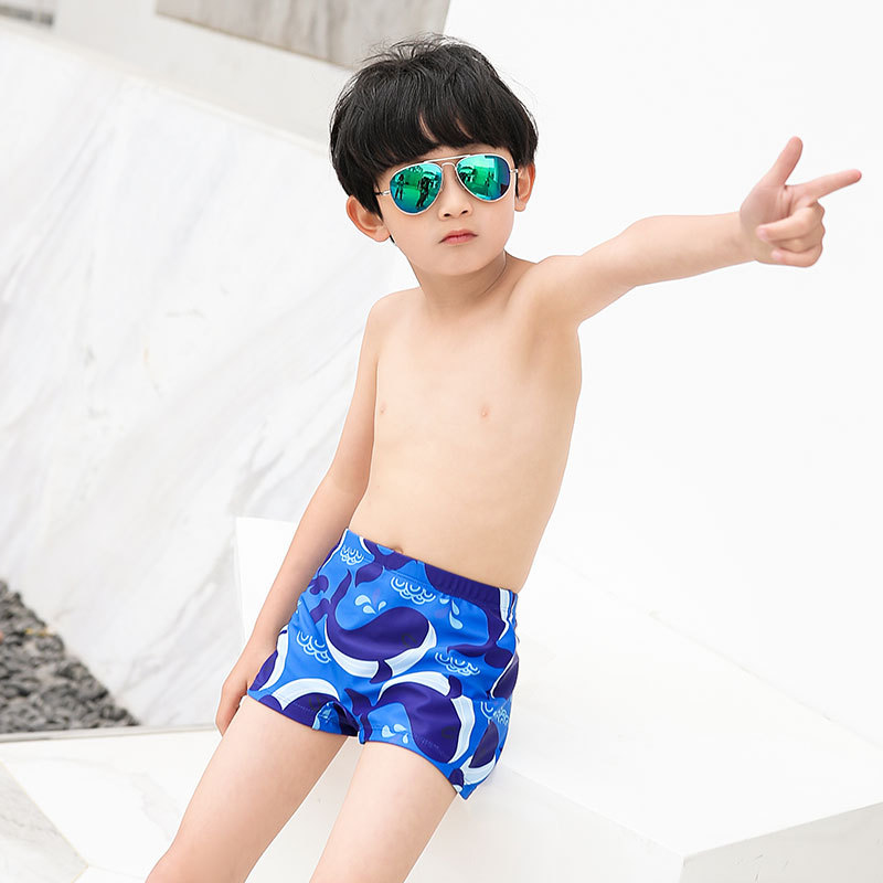 CHILDREN'S Swimming Trunks BOY'S Boxer Shorts Infants Small CHILDREN'S Baby Swimming Trunks Swimwear Big Boy Two-piece Swimsuits
