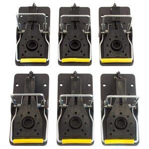 Ловушка для мышей, многоразовые и простые в использовании ловушки, упаковка из 6 шт.