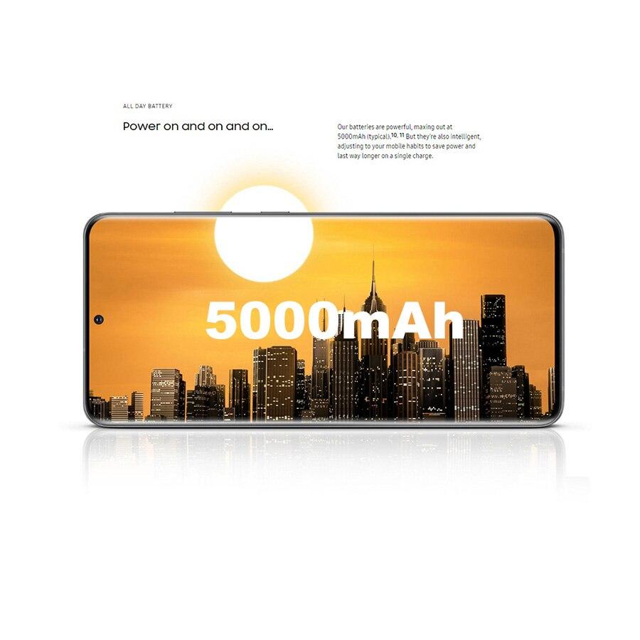 Original NEW Samsung Galaxy S20 Ultra G988B-DS 5G Mobile Phone 12GB RAM 128GB ROM 6.9