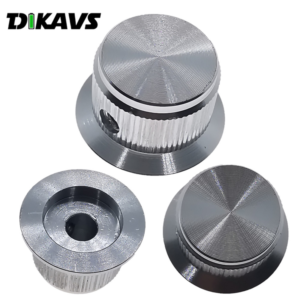 Solid Aluminum Potentiometer Encoder Knob Volume Knob HIFI Knob Audio Adjustment Knob 24x14mm