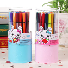 Childrens Painting 12 Colors Non-toxic Washable Watercolor Pen Stationery Graffiti Colored Brush