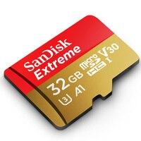 SanDisk Extreme micro sd karte 64GB microSDXC U3 32GB microSDHC cartao de memoria Class10 V30 A1 90 MB/S TF Karte in Speicher Karte|cartao de|microsdxc u364gb microsdxc -