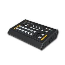 Avmatrix VS0601 Mini 6 Canali Sdi/Hdmi Multi Formato Video Switcher con T Bar, Auto, taglio Transizioni E Pulire Effetti