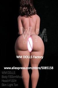 Image 4 - NIEUWE WMDOLL 150cm M Cup Enorme Butt Japanse Sekspop Kunstmatige Borst Vaginale Anale Mannequins Volwassen Siliconen Liefde Poppen voor Mannen
