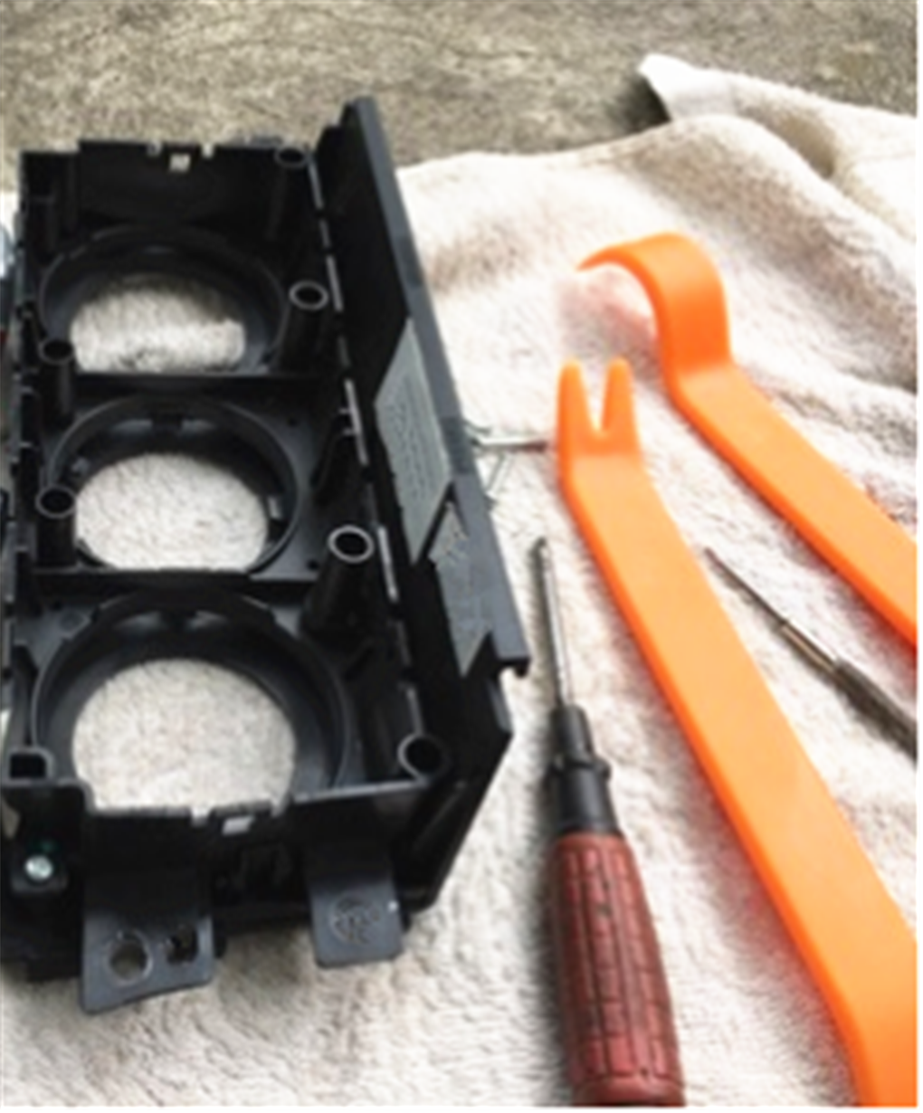 רכב הסרת לוח כלים פנל dvd תיקון עבור KIA SOLARIS ורנה IX25 IX35 IX45 סונטה 8 כל מכוניות קדנצה טלוריד
