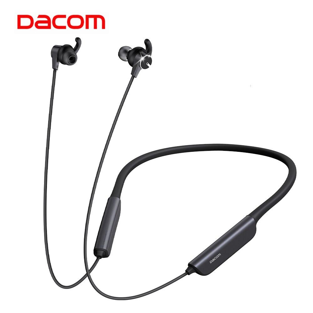 Bluetooth-наушники Dacom L54 с активным шумоподавлением и шейным ободом