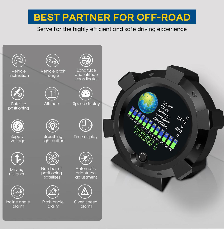 cheapest OBD2 Hud Upside Down HD TFT Car Speed Windshield Projector Head-Up Display Speedometer Auto Alarm OBD OBDii Oil Water Temp Gauge