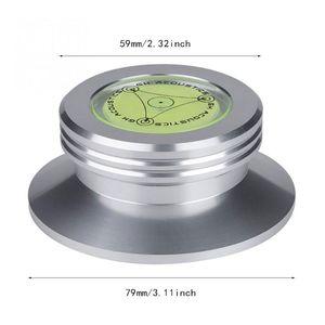 Image 3 - אלומיניום שיא משקל מהדק LP ויניל פטיפונים מתכת דיסק מייצב עבור רשומות נגן אביזרים