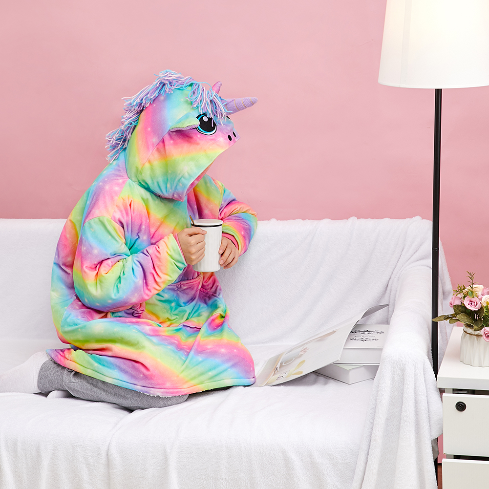 [New Arrival] Colorful Rainbow Unicorn Hoodie