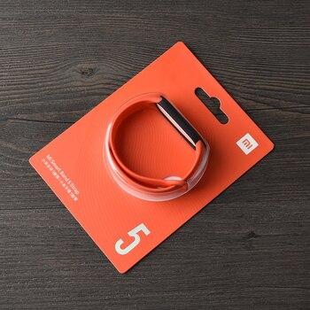 100% Original strap for xiaomi mi band 6 5 silicone bracelet miband 5 Mi5 strap for xiaomi xiomi mi band 5 Replacement Bracelet6 17