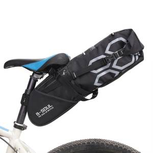 Storage-Bags Bicycle-Luggage-Bag Saddle Tail-Seat Rear-Packing-Panniers Bike Cycling