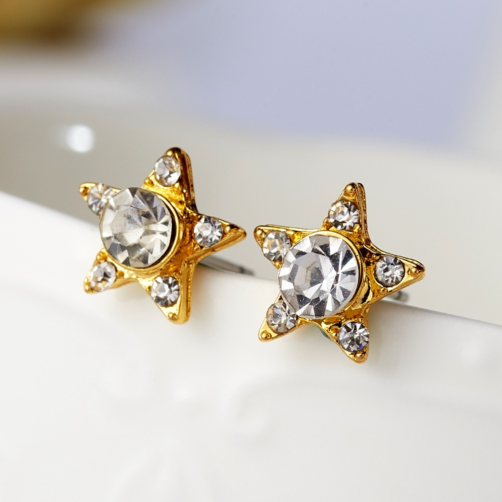 12 Pairs/set Stud Earrings Set With Card Transparent Zircon Balls Love Flowers Earrings Women Imulated Pearl Earrings Jewelry 77