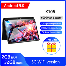 10 inch Tablet PC 5G Wifi Android 9.0 Tablet Octa-Core 2G RAM 32G  ROM Gaming Tablets GMS 1920*1200 IPS FHD pipo x10 pro mini pc ips tablet pc dual os android windows 10 tv box intel z8350 quad core 4g ram 64g rom 10000mah bluetooth