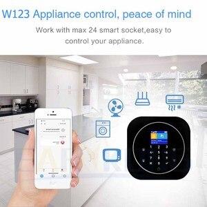 Image 3 - Tuya APP Smart WiFi GSM Home Security GSM Alarm System 433MHz Detectors Alarm Compatible With Alexa Google Home IFTTT Tuya APP