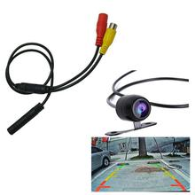 1Pcs Car Reverse Backup Rear View Camera 4-Pin Male To Female Connector RCA CVBS Wire Signal Power Adapter Harness