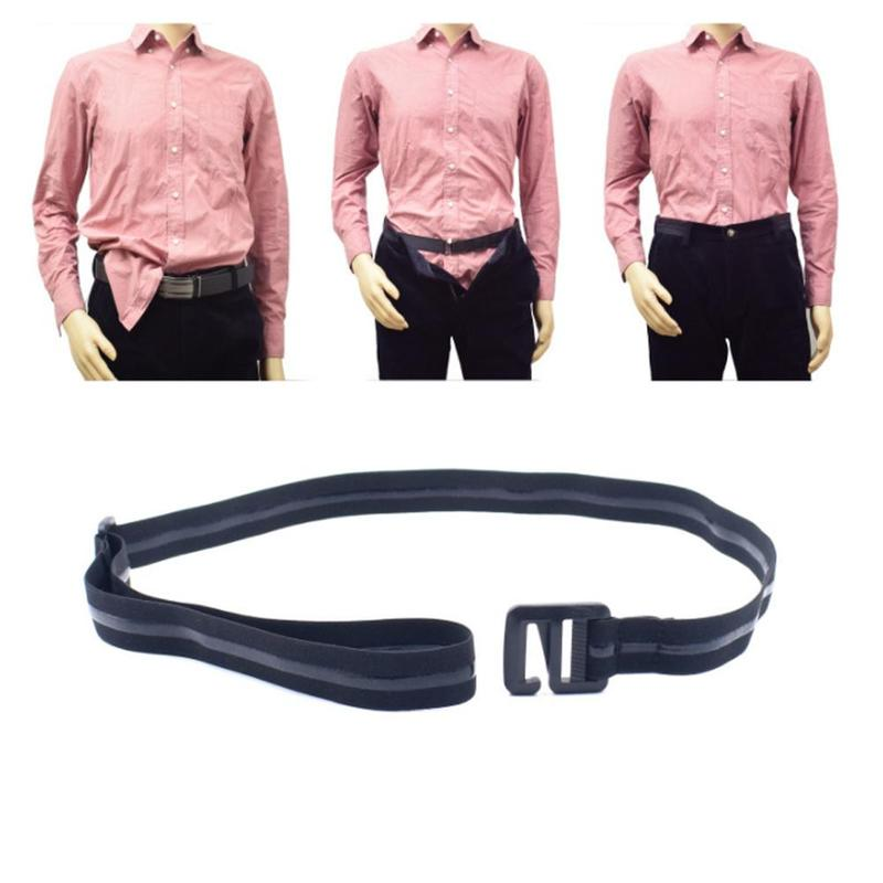 Shirt Holder Belt Men Women Adjustable Shirt-Stay Best Shirt Stays Belt Shirt Designed Hold Up For Men Black Tuck It