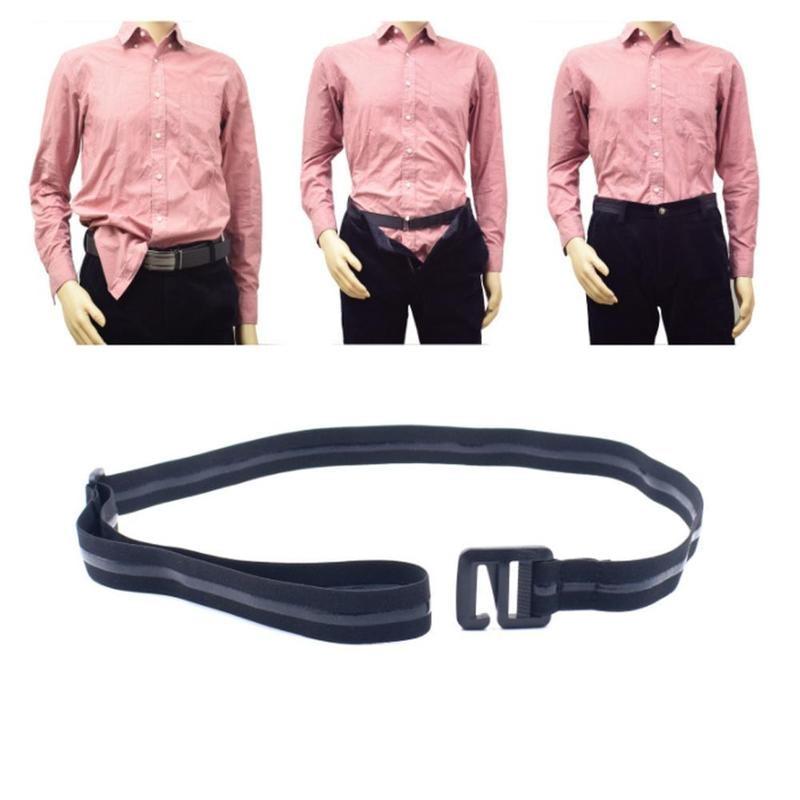 Shirt Holder Belt Men Women Adjustable Shirt-Stay Best Shirt Stays Belt Shirt Designed Hold Up For Men Black Tuck It