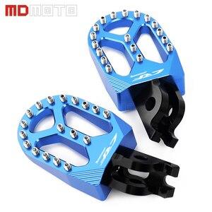 Image 4 - MDMOTO זוג אופנוע CNC הדום Footpeg רגל יתדות להונדה CRF250R CRF 250 R CRF 250R CRF250 R 2004   2019 2020 אביזרים